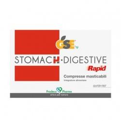 Gse stomach, digestive rapid, 24 compresse masticabili-Prodeco pharma