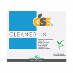 Gse cleaner-in, 14 bustine-Prodeco pharma