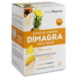 Dimagra VEGETAL protein, 10 buste-Promo pharma